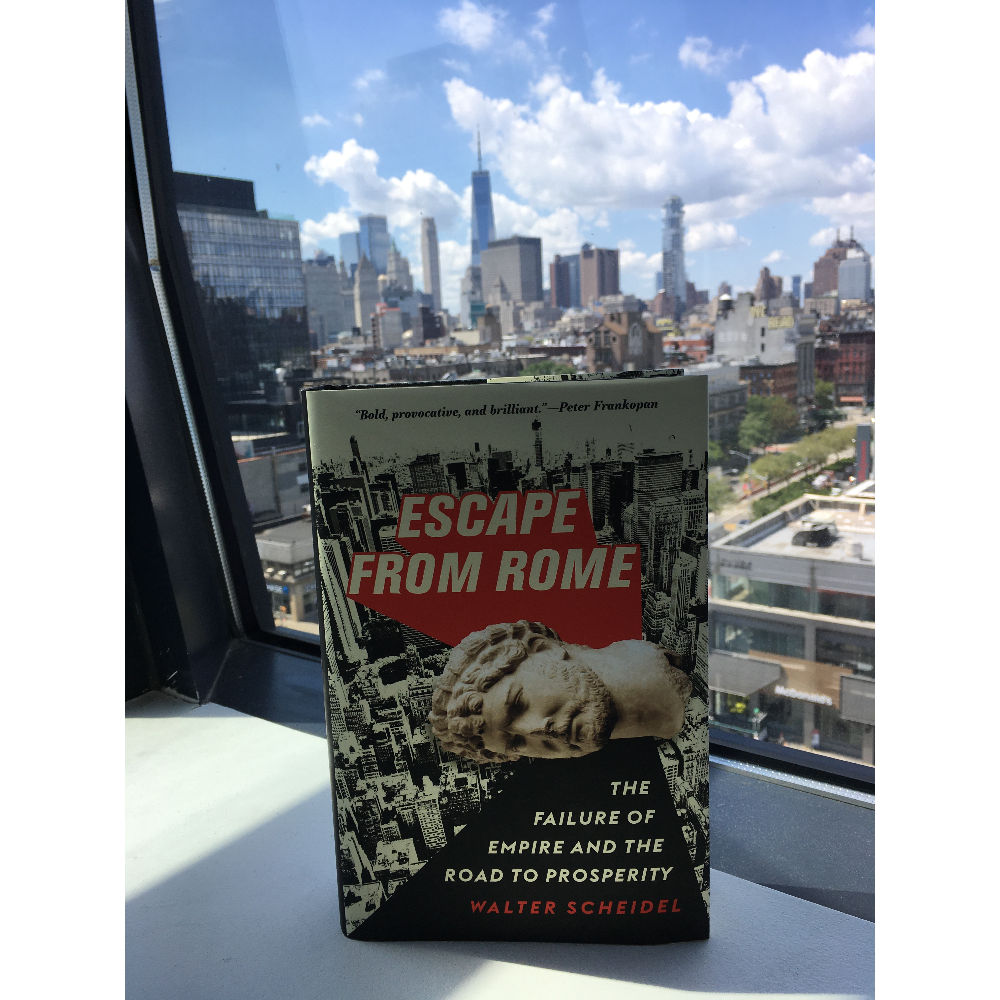 Escape from Rome by Walter Scheidel (with PREDICTION!)