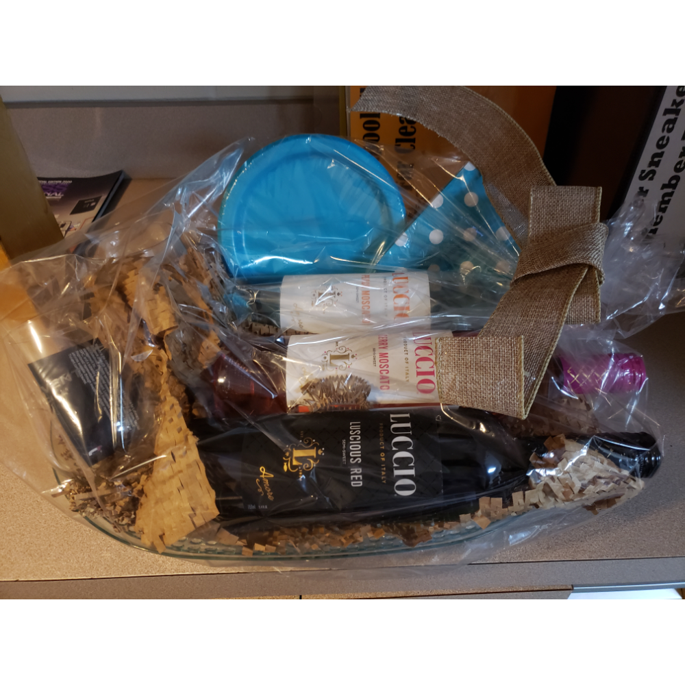 Wine Basket ( must be 21 years old)