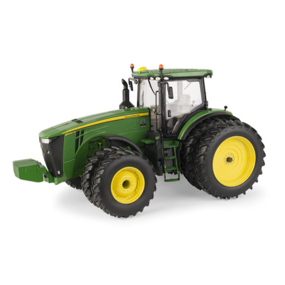 John Deere Prestige Collection 8400R Green Year Of The Tractor Replica Tractor 1:16 scale model donated by Green Tractors Kingston