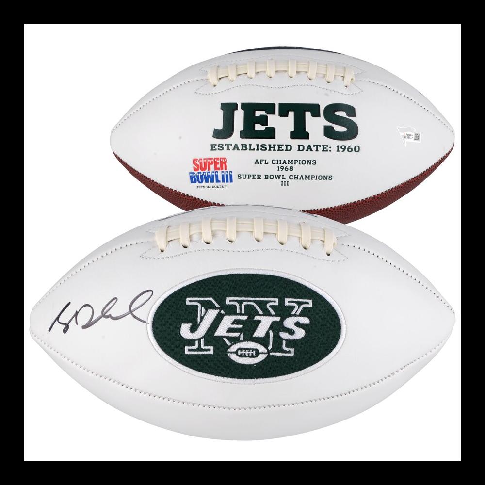 Sam Darnold Autographed NY Jets Football