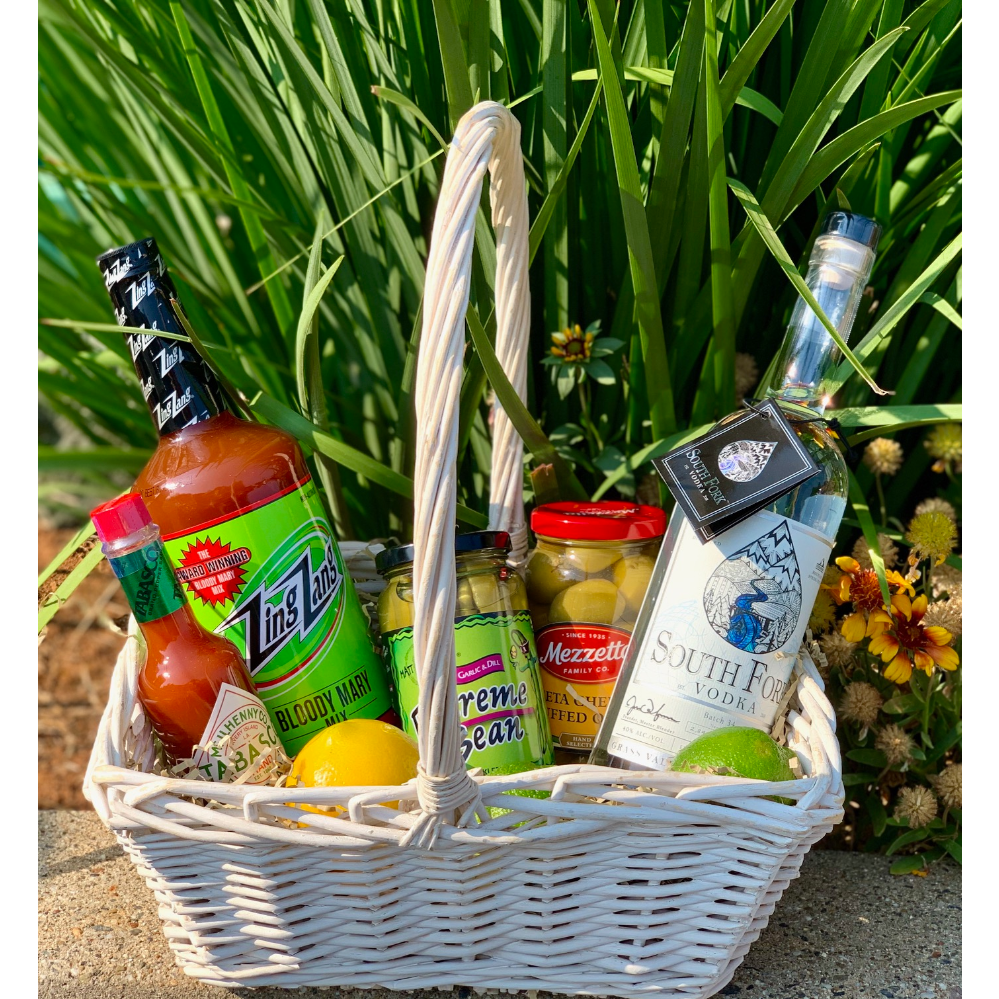 South Fork Vodka Bloody Mary gift basket