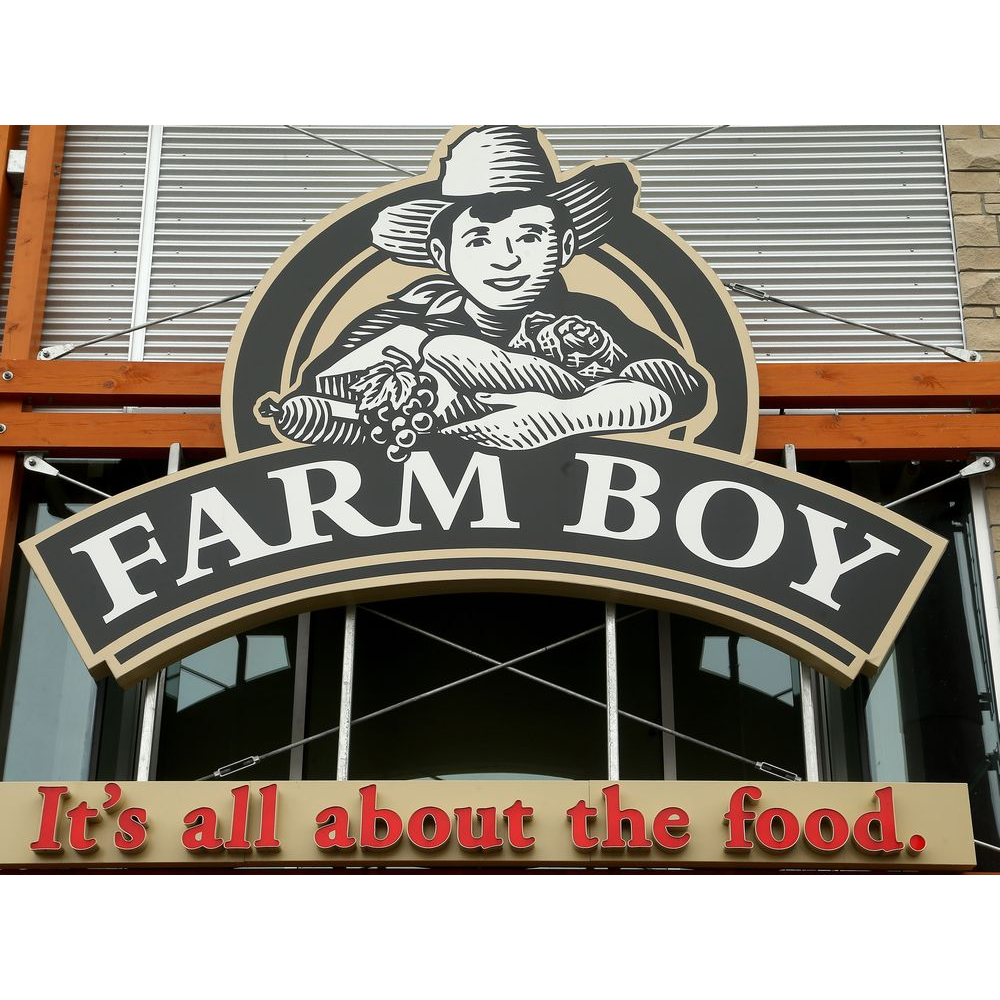 $50 Gift certificate donated by Farm Boy Kingston