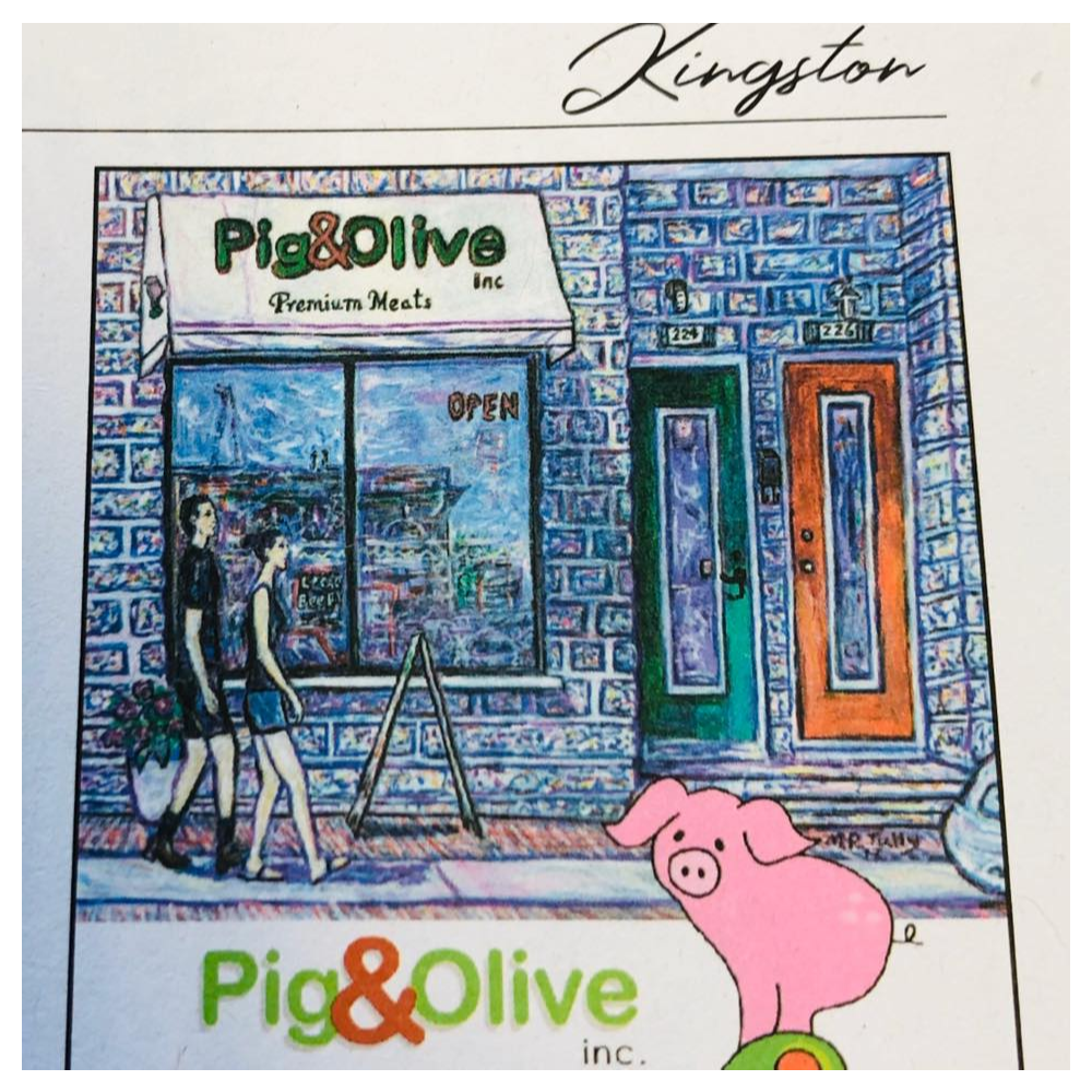 $50 gift certificate donated by Danielle and Al Chater of Pig and Olive.
