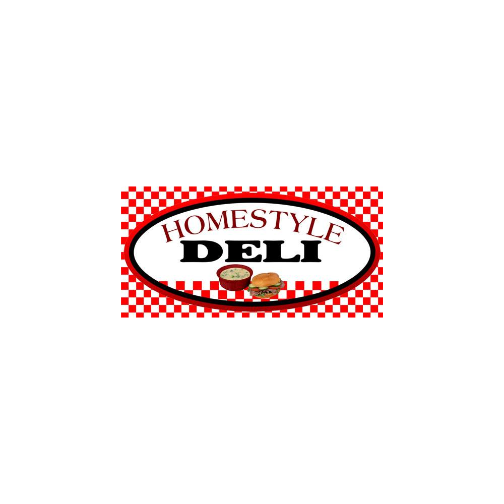 $25 Gift card donated by Homestyle Deli.