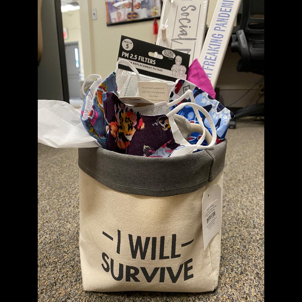 I Will Survive Basket