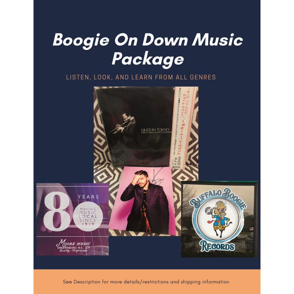 Boogie On Down Music Package