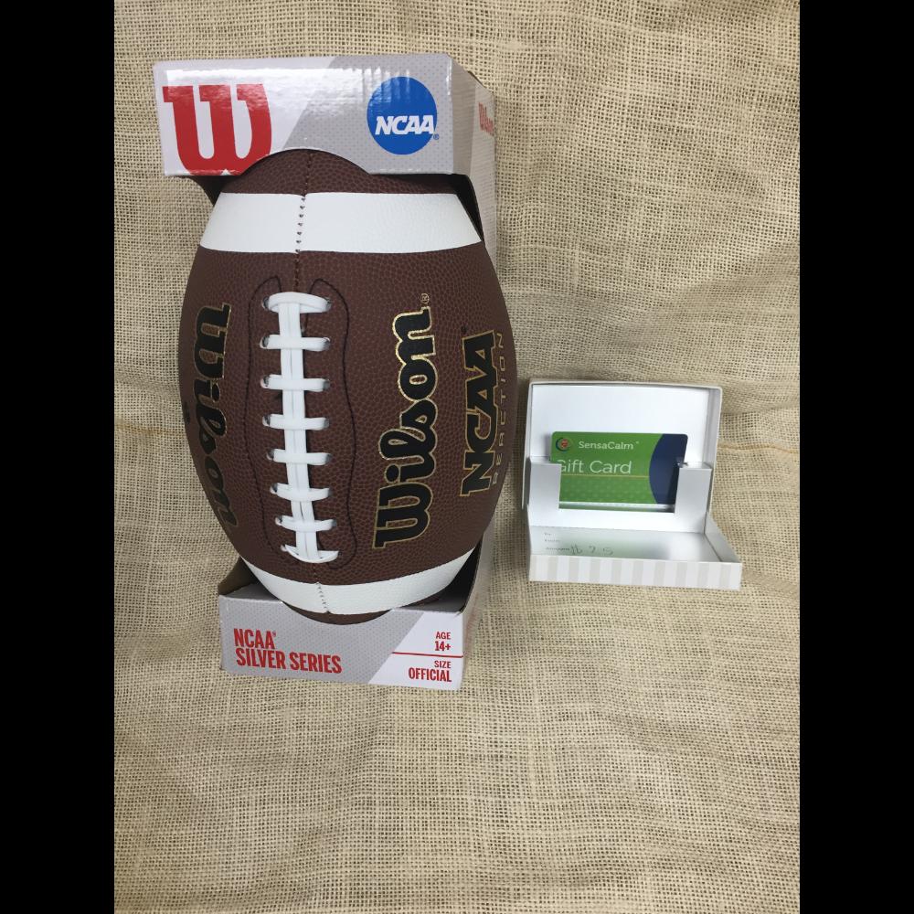 NCAA Football and SensaCalm gift card