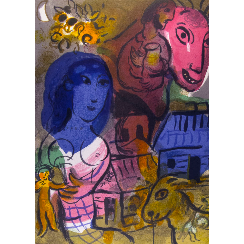 """Homage to Marc Chagall"""