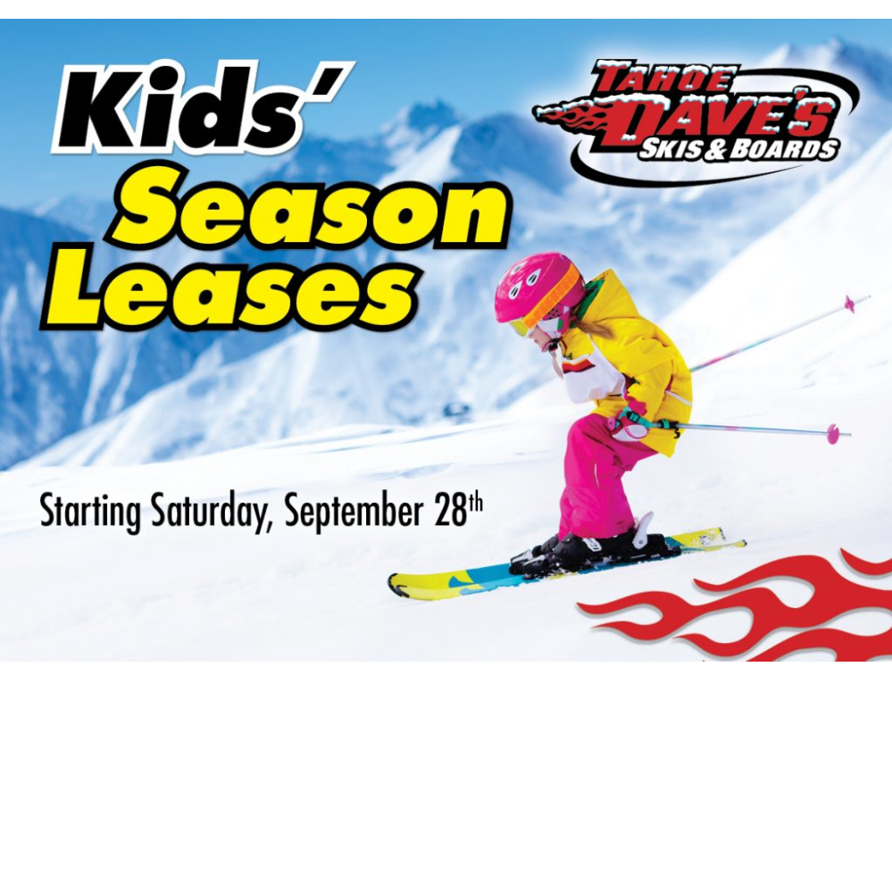 Kids' Season Ski Rental