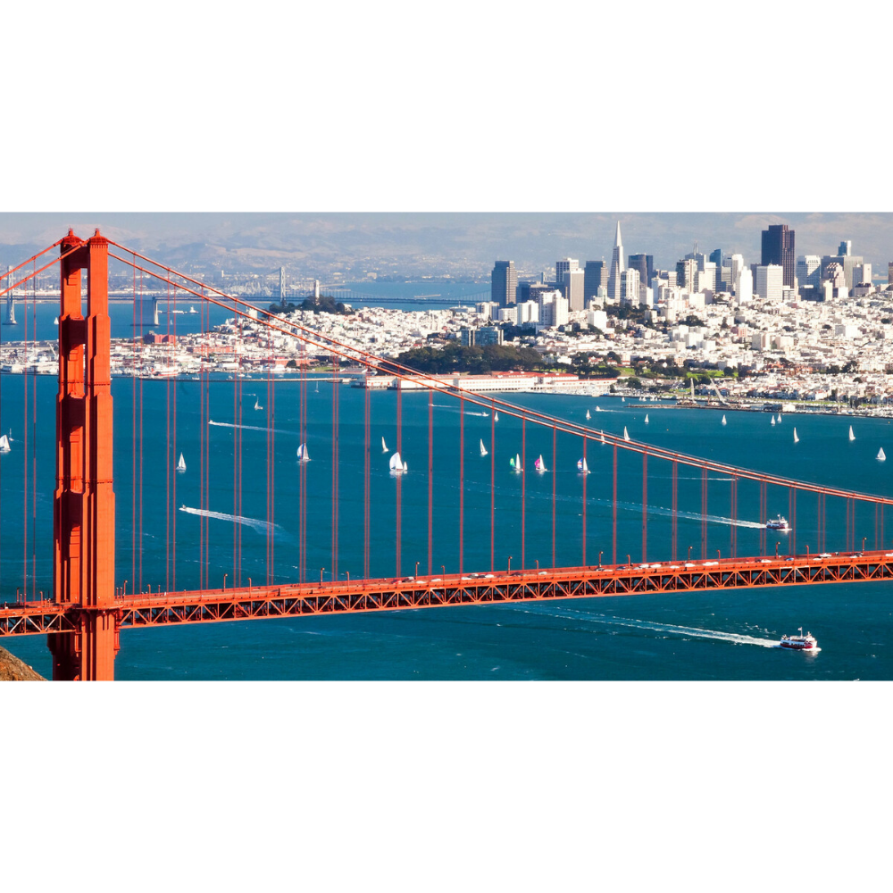 Sailing tour for Four on the San Francisco Bay