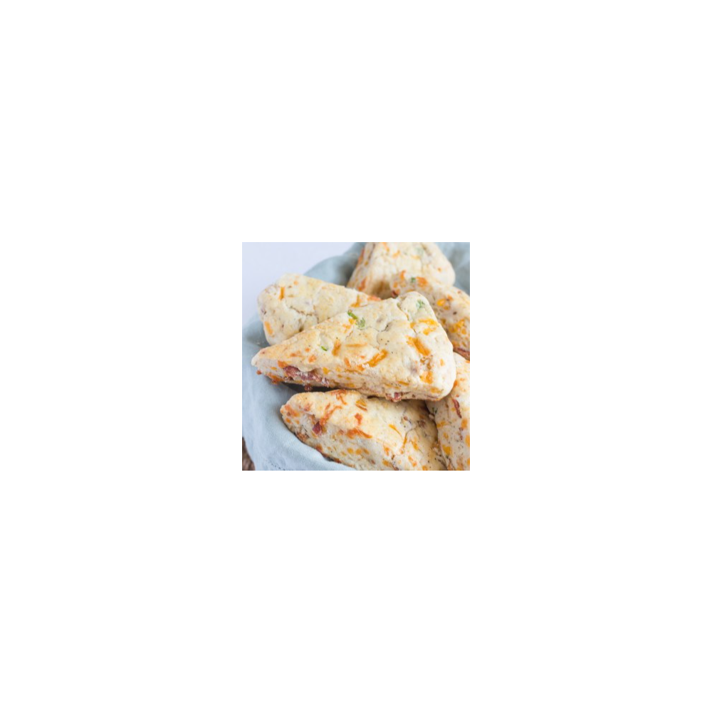 Rebecca's Savory Bacon and Cheddar Cheese Scones