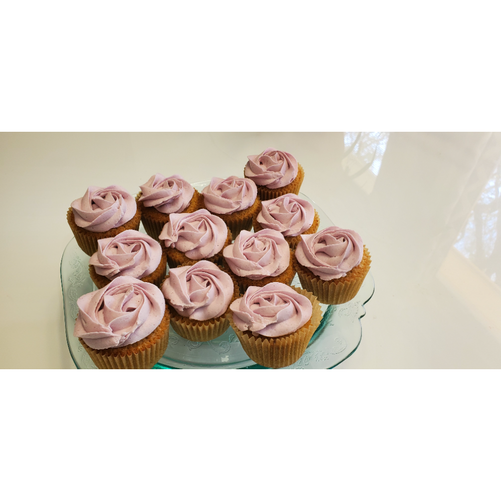 Alexandra's Vanilla Cupcakes