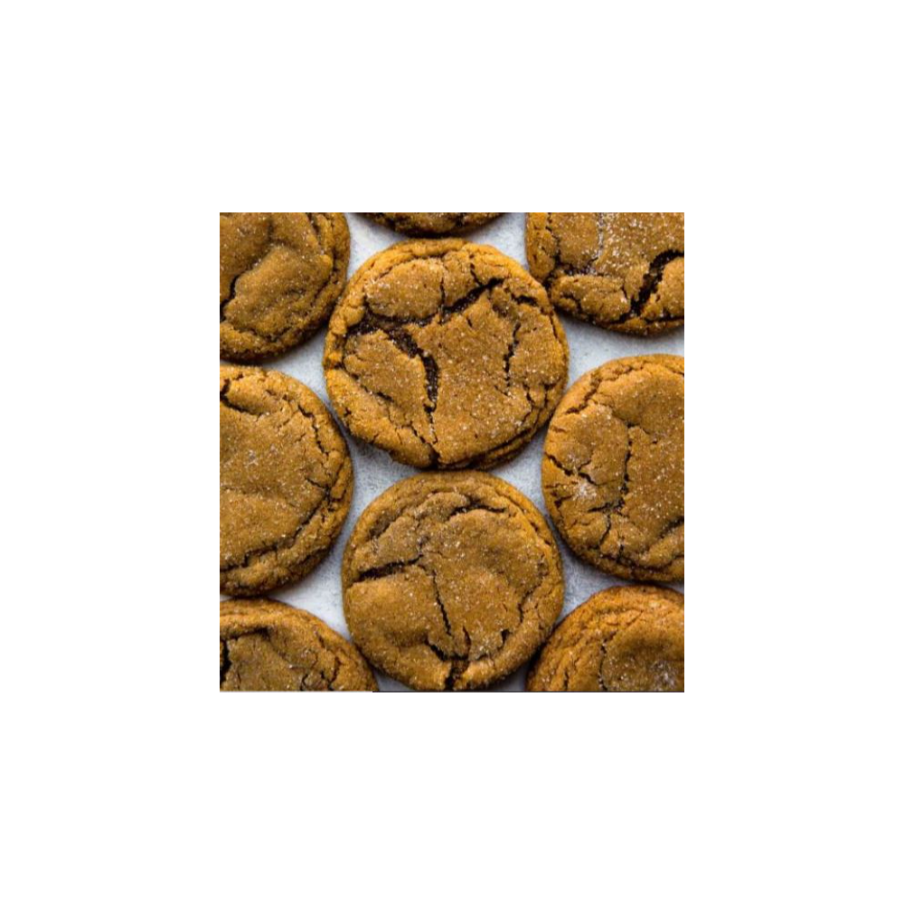 Valoneecia's Soft and Chewy Ginger Molasses Cookies