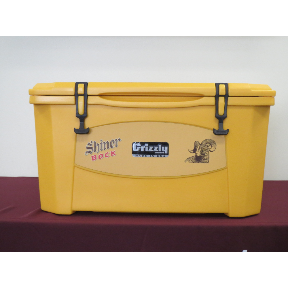 Shiner Bock 60 QT Cooler