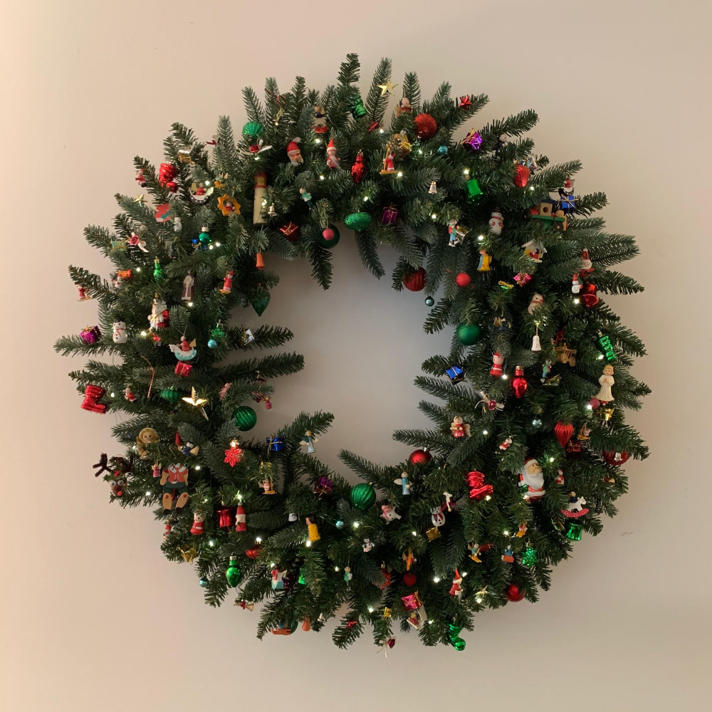 "Beautiful 36"" Artificial Christmas Wreath"