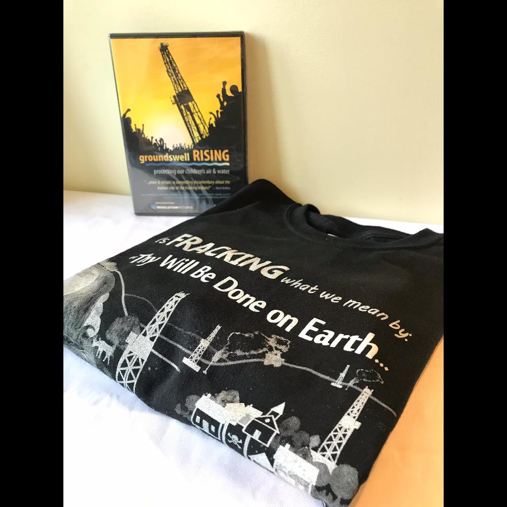 Groundswell Rising Documentary + t-shirt