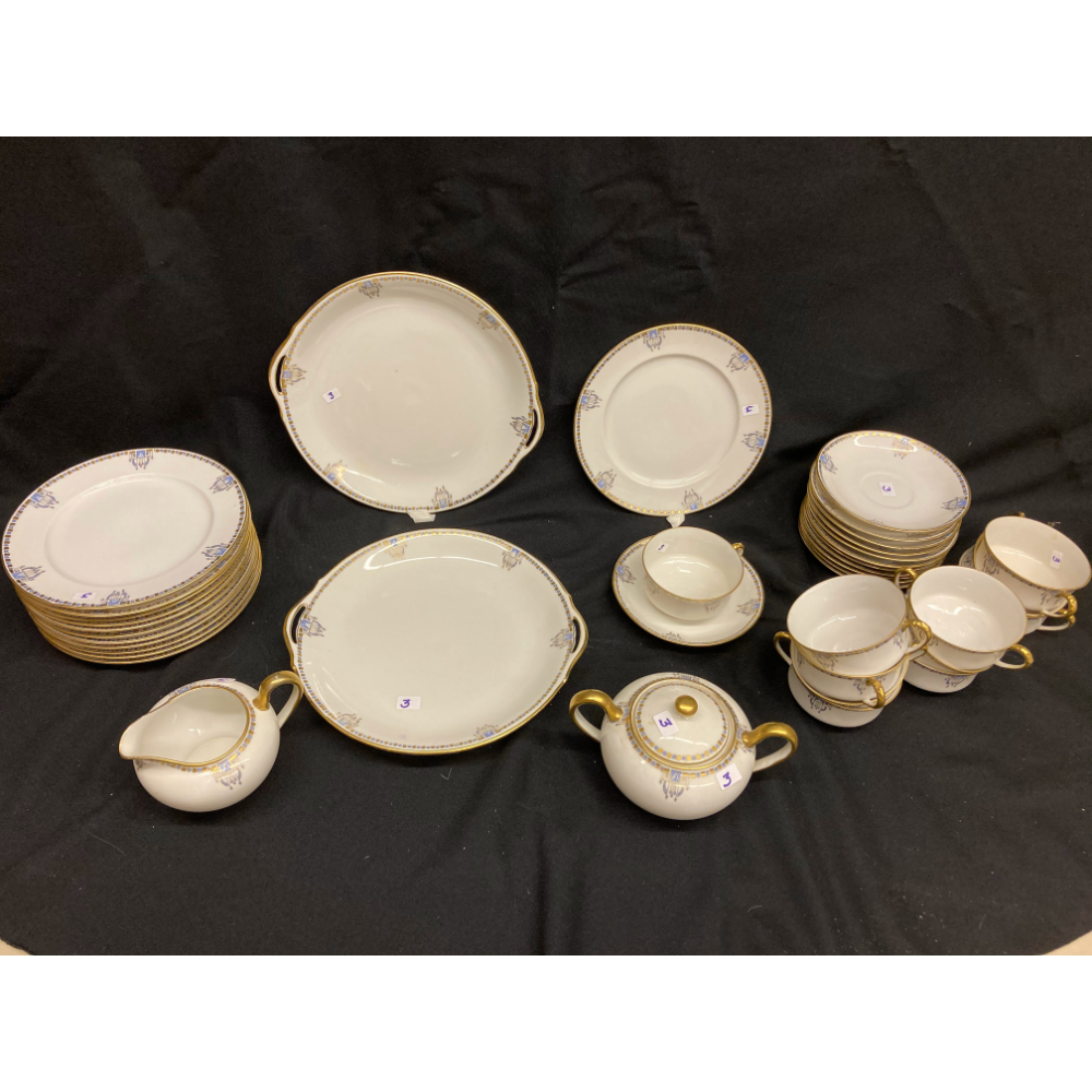 English China Tea Set