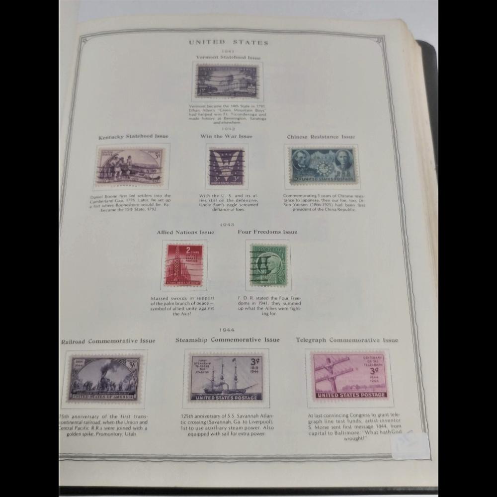 Minuteman Stamp Album