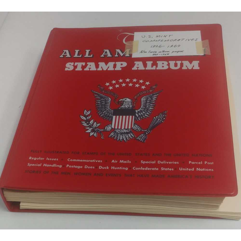 Red USA Mint Condition Stamp Book
