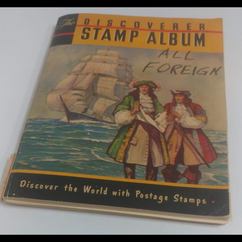Discoverer Stamp Album - All Foreign