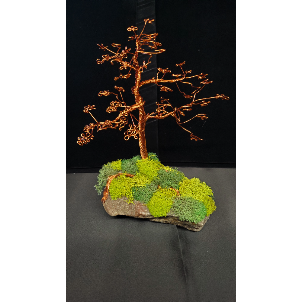 "8"" tall Wire Tree Sculpture"