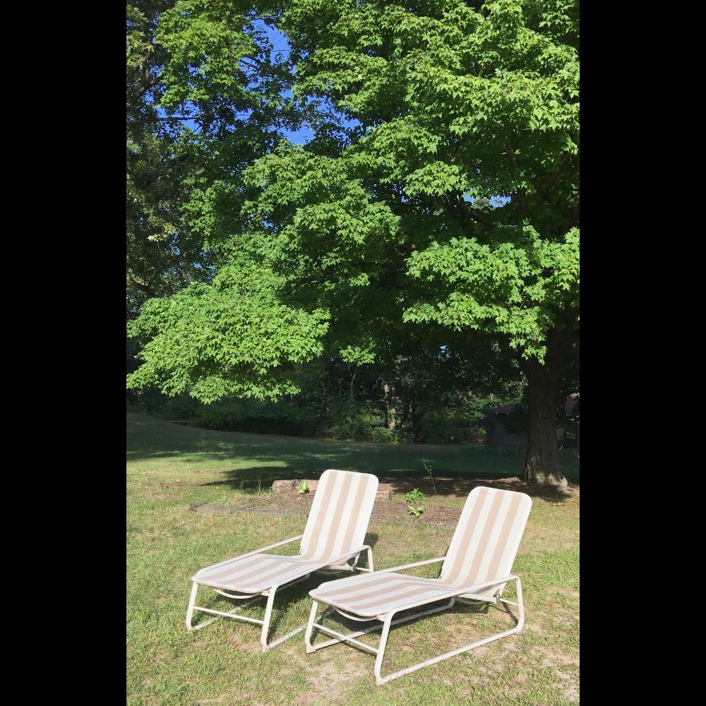 Samsonite Chaise Lounge Chairs