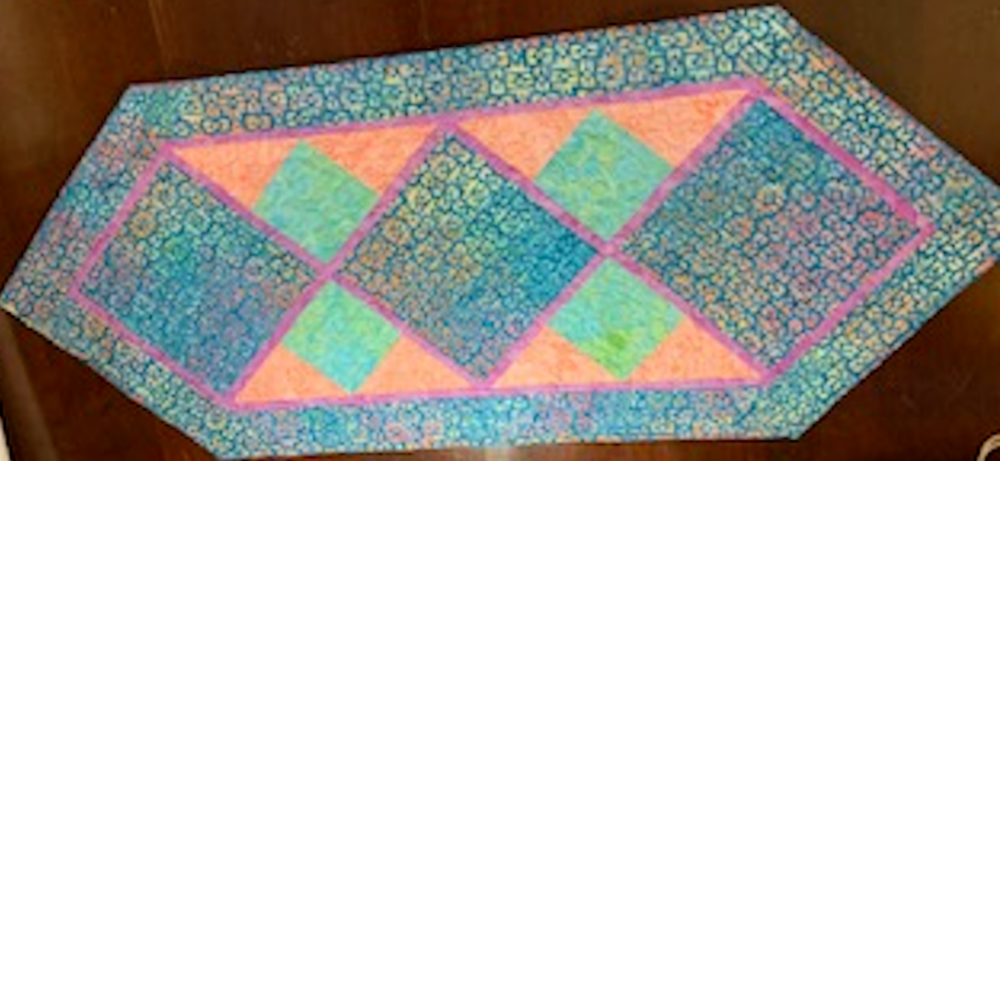 Custom Designed Quilted Table Runner