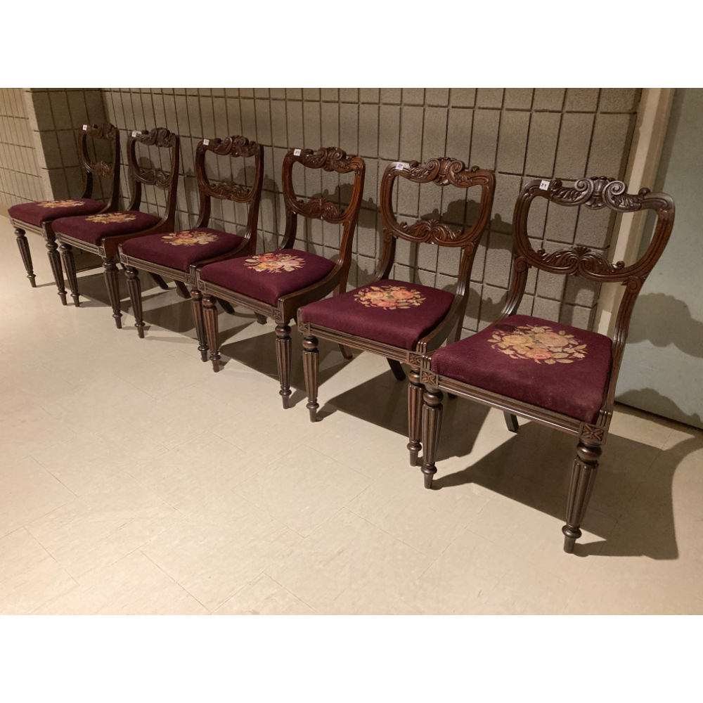 Antique Rosewood Dining Chairs