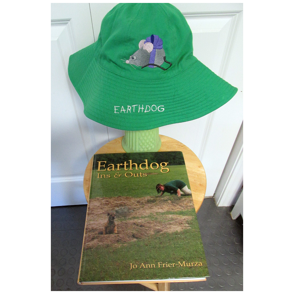 Earthdog Ins & Outs Book and Hat