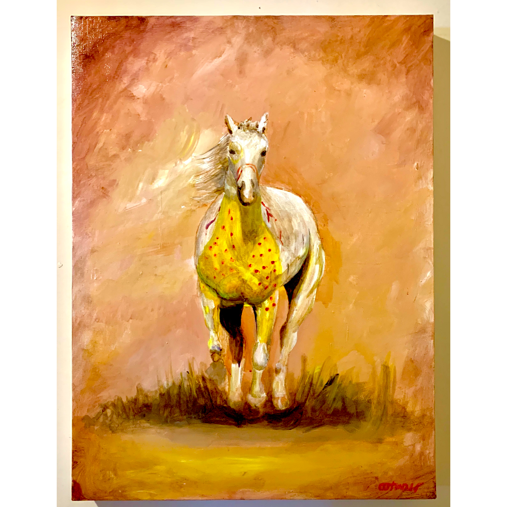 Untitled (Painted Horse)