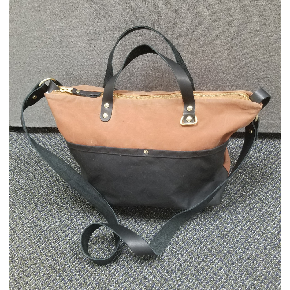Cross Body Tote with travel kit