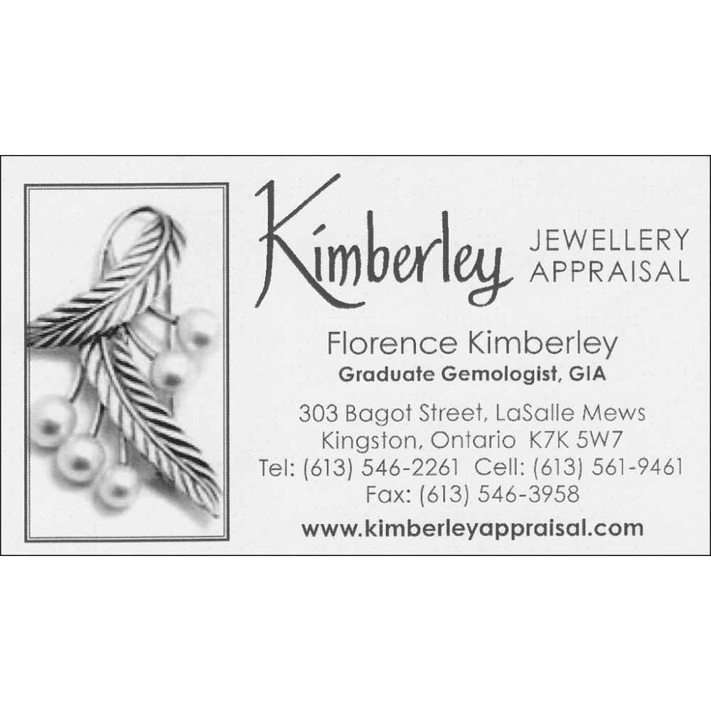 $100 Gift certificate donated by Kimberley Jewellery Appraisals