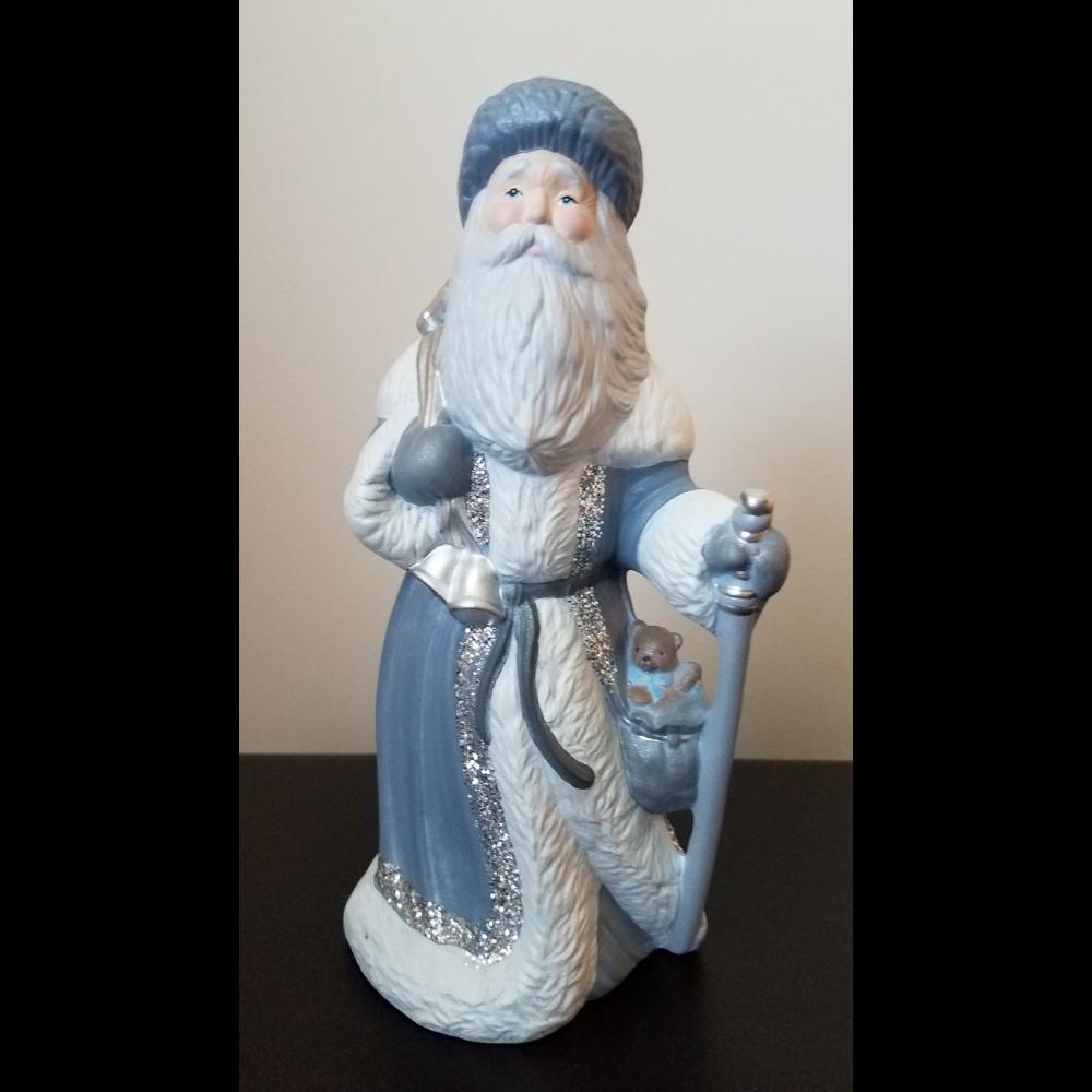Old World Santa / St Nicholas Porcelain Figurine
