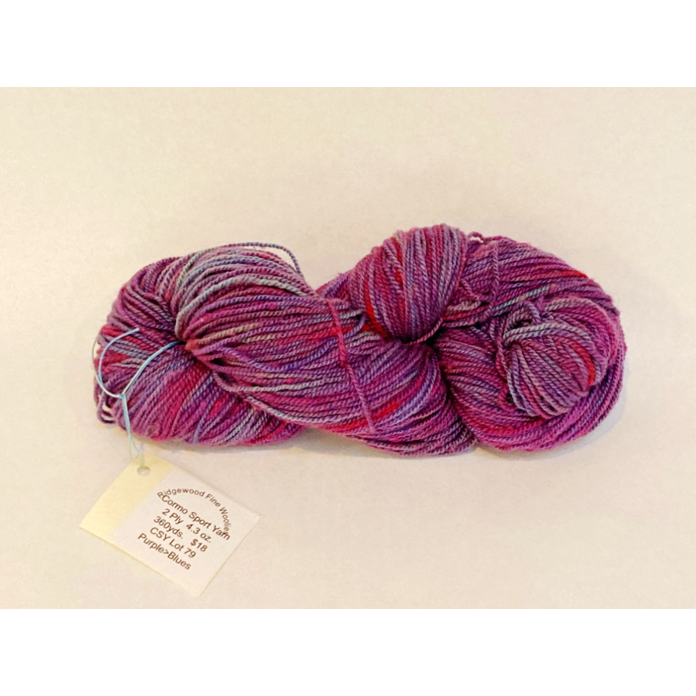 Hand-dyed Wool Yarn