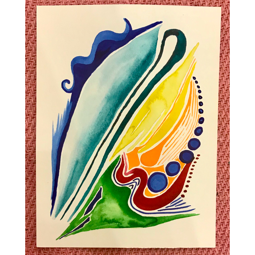 Reiki Watercolor