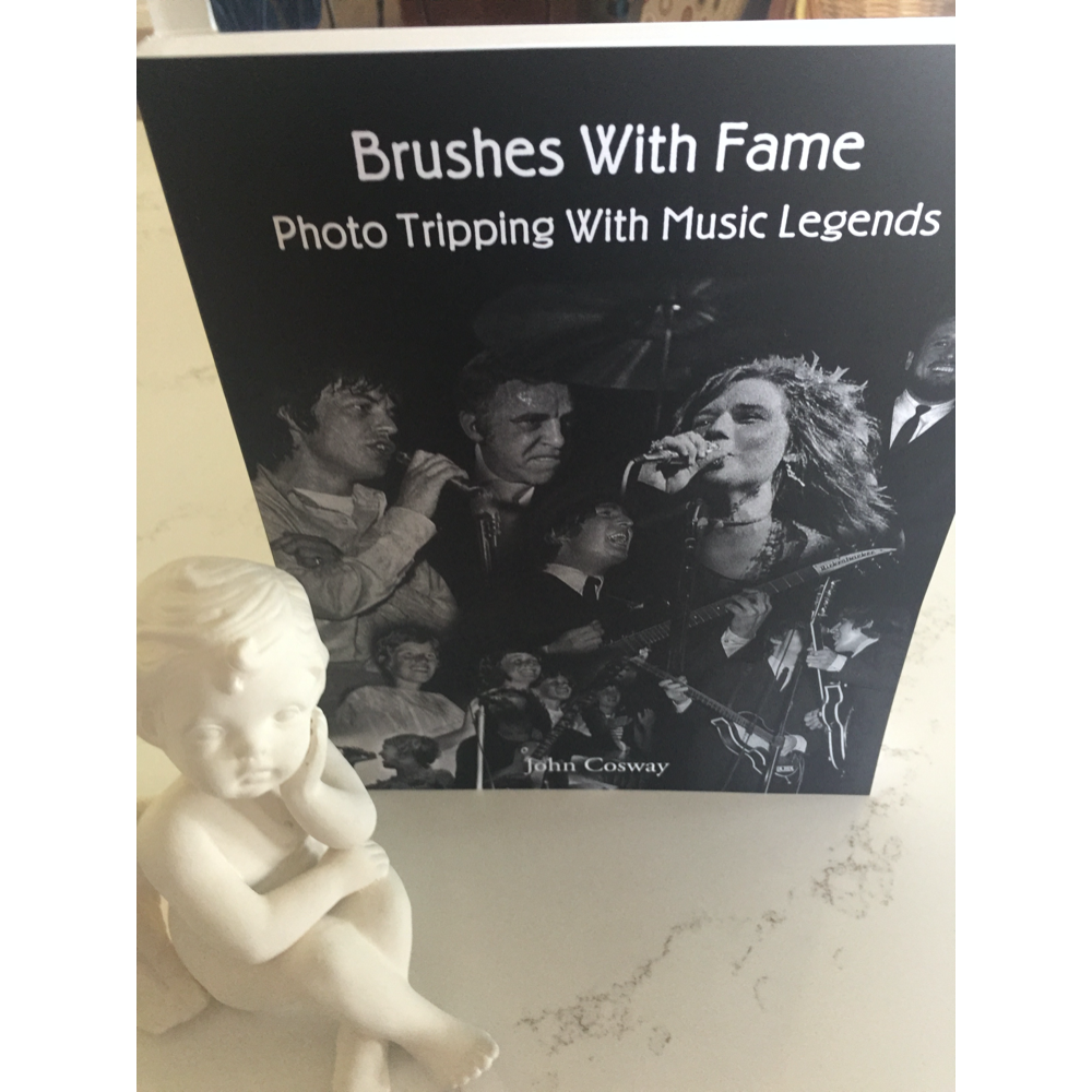 """""""BRUSHES WITH FAME - PHOTO TRIPPING WITH MUSIC LEGENDS"""""""