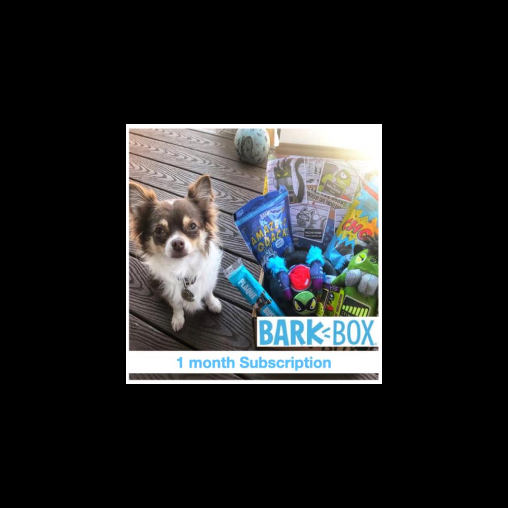 1-mo Barkbox Subscription