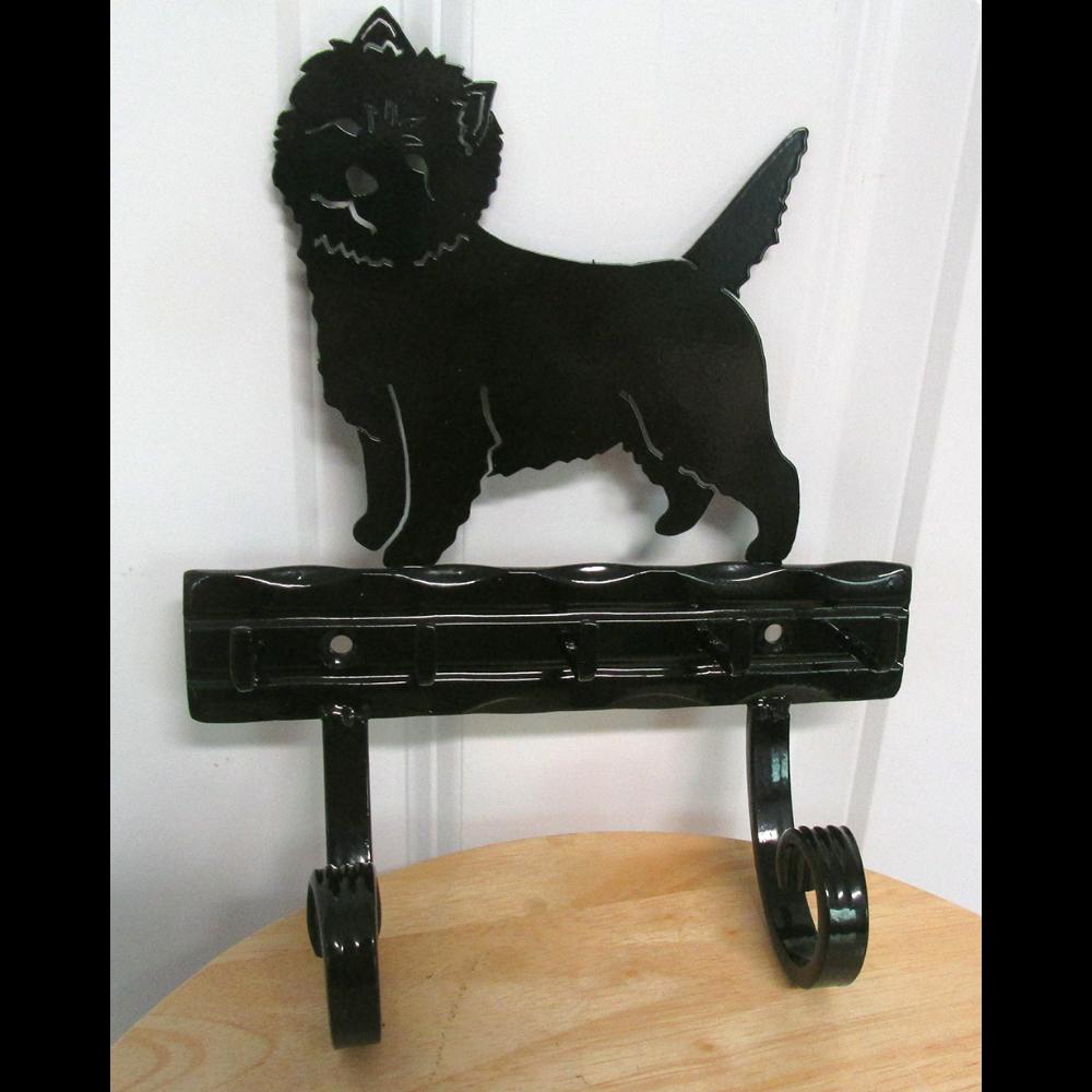 Iron Cairn Terrier Leash Holder