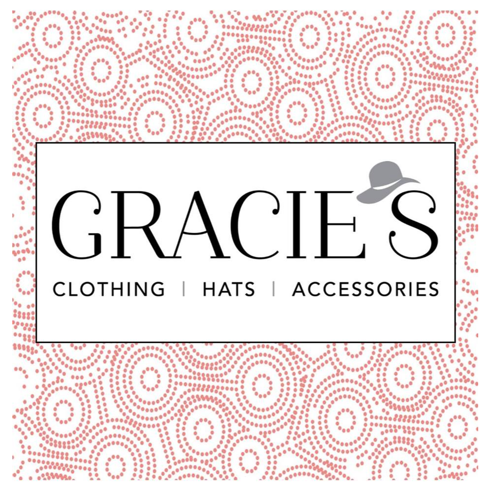 $25 Gift certificate donated by Gracie's Clothing Hats and Accessories