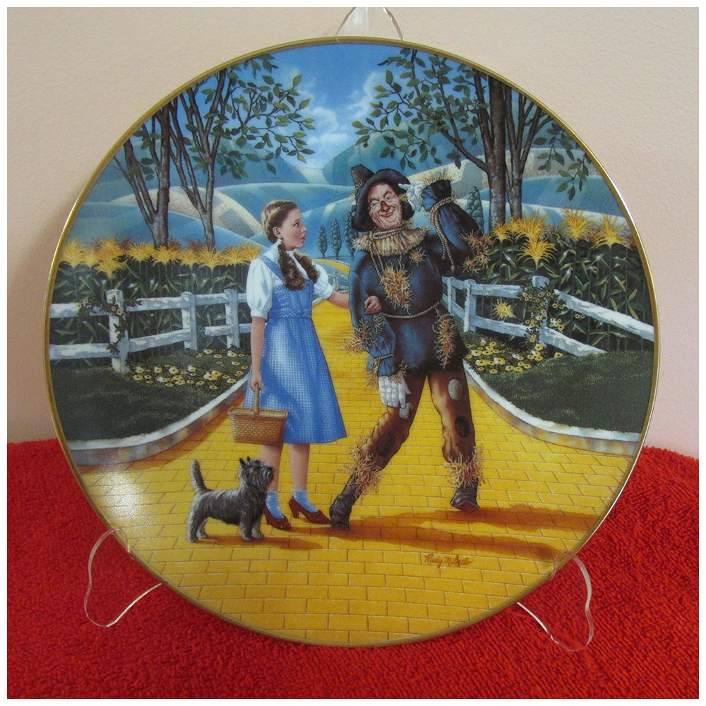 Wizard of Oz Limited Edition Plate