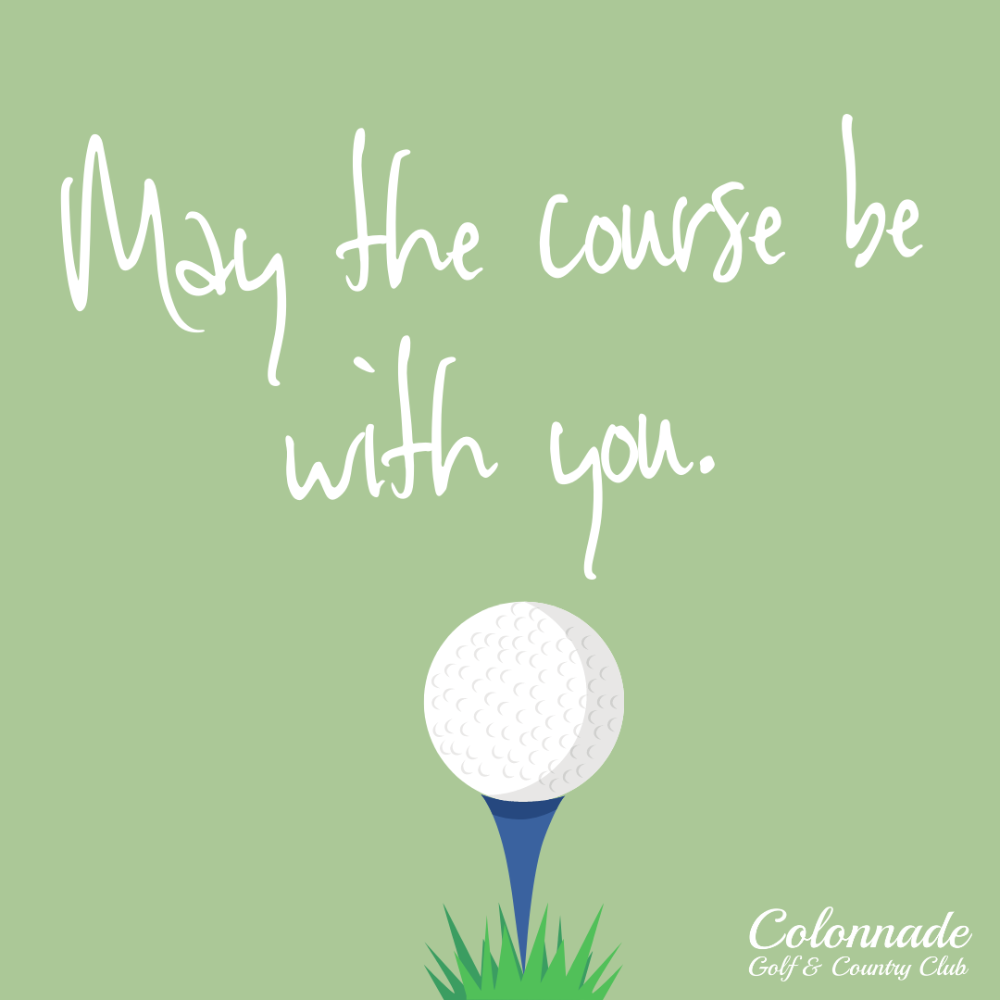 Round of golf for four donated by Colonnade Golf and Country Club