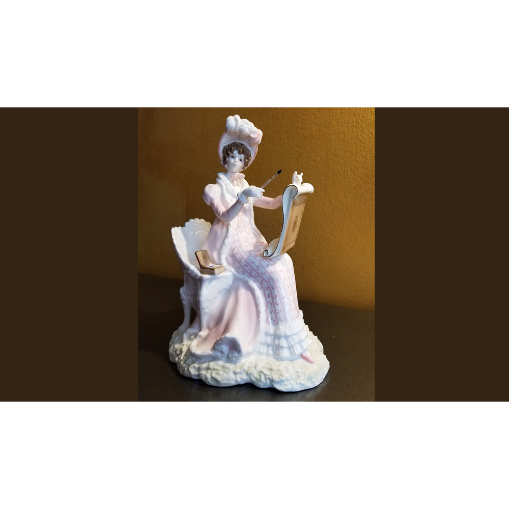 Royal Worcester Jane Austen Heroines Emma Figurine