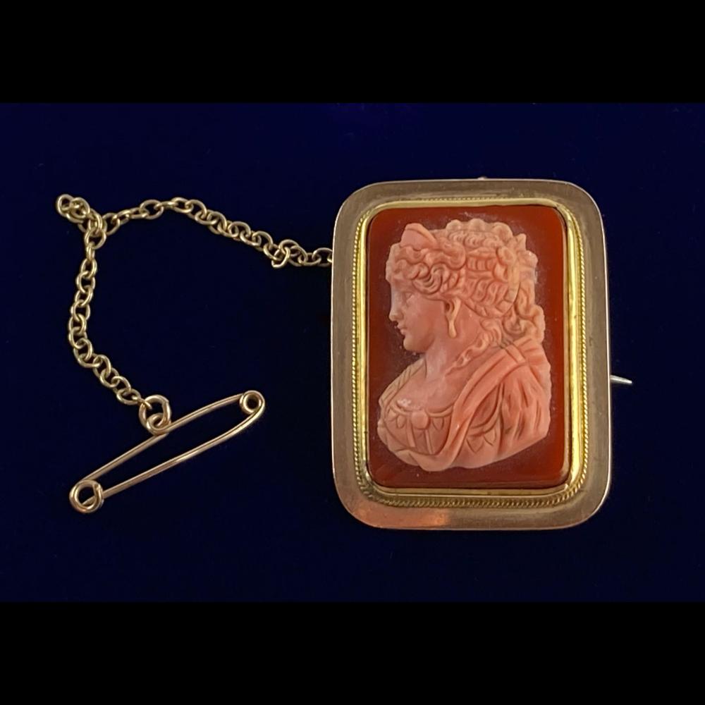 Late Georgian Pin / Pendant