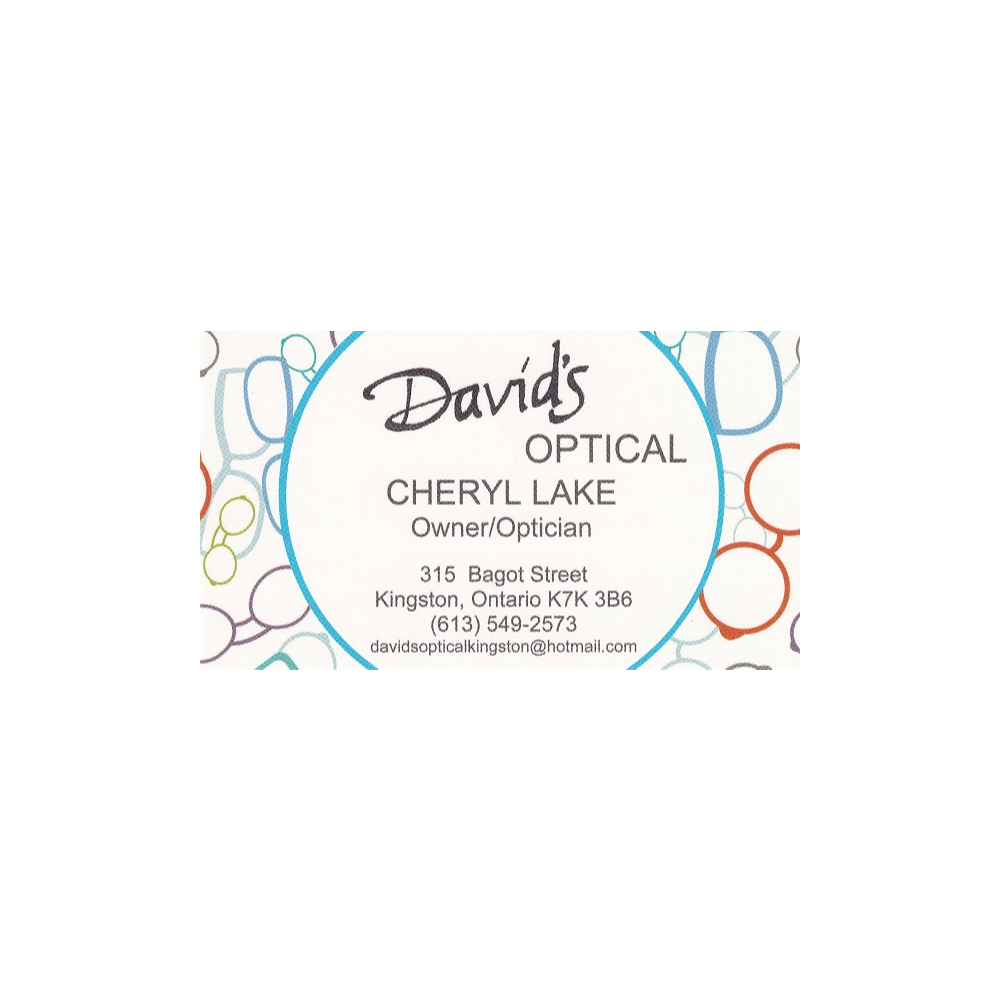 $250 gift certificate donated by David's Optical *PREMIUM ITEM*