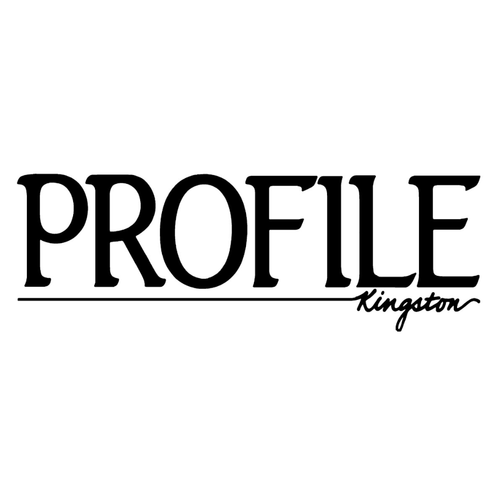 1/4 Page black and white advertisement donated by Profile Kingston Magazine *PREMIUM ITEM*
