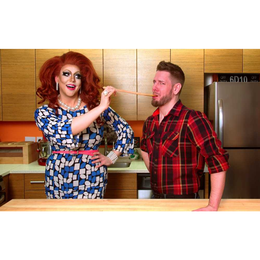 Cooking Class with Honey LaBronx, the Vegan Drag Queen
