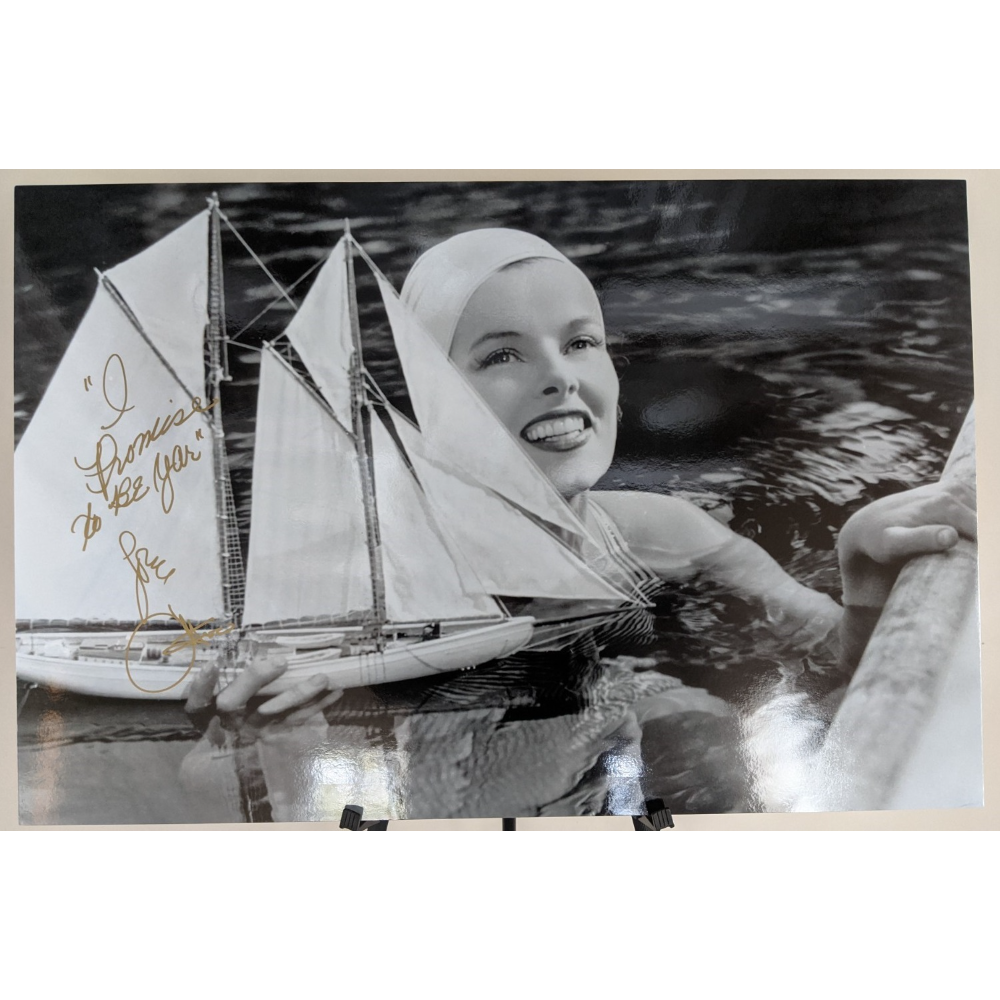 """Cher Autographed Poster of """"The Philadelphia Story"""""""