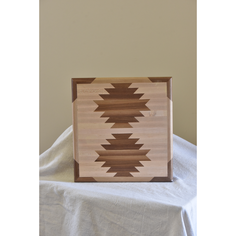 Inlaid Cutting Board, Handcrafted