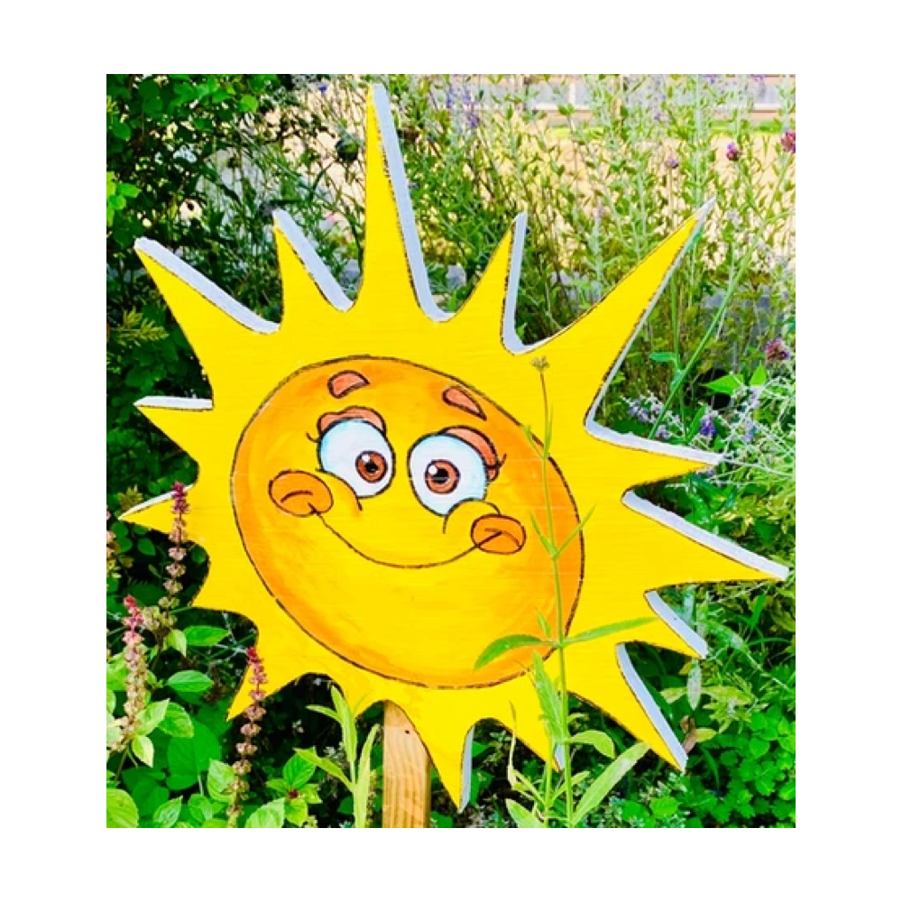 A Slightly Silly Grinning Sun