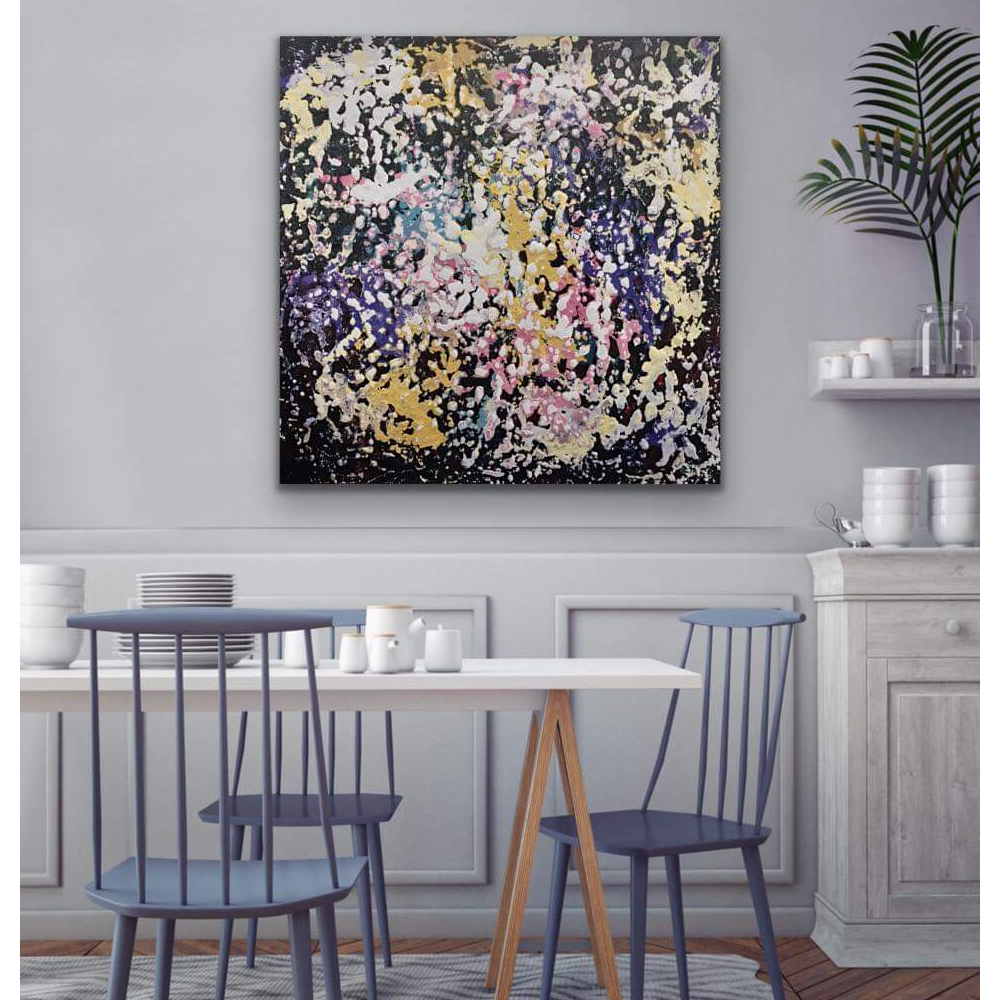 """""""WILDLY"""" - PAINTING BY EXPRESSIONIST ARTIST BETSY MILLER"""